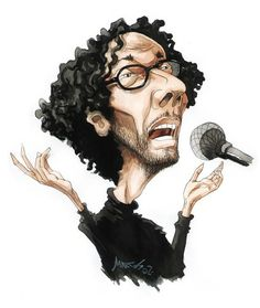 Fito Paez Funny Celebrity Pics, Rock Artists, Famous Faces, Caricature, Holi, Rock And Roll, Mona Lisa, Funny Pictures, Photoshop