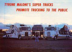 Tyrone Malone's Kenworth trucks