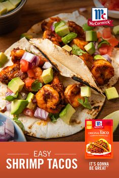 Best Seafood Recipes, Shrimp Recipes For Dinner, Shrimp Recipes Easy, Seafood Dinner, Fish Recipes, Healthy Dinner Recipes, Mexican Food Recipes, Vegetarian Recipes, Cooking Recipes