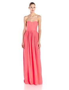 Parker Women's Bayou Silk Strapless Maxi Dress, Shock Pink, X-Small Parker http://smile.amazon.com/dp/B00SVCMBPG/ref=cm_sw_r_pi_dp_ptZUvb16ZC21X