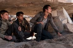 New Scorch Trials still. That's Aris on the left.
