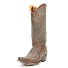 Old Gringo Brass Lauren Cowgirl Boots|All Womens Western Boots