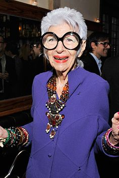 Iris Apfel is launching a handbag collection!
