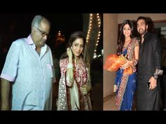 Sridevi and Shilpa Shetty spotted at Anil Kapoor's house for KARVA CHAUTH 2015 Celebration. See the full video at : https://youtu.be/6m_VGhiNOB8