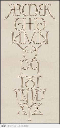 Mirror Alphabet. By Scott Kim! (Who else but Scott Kim could develop this so elegantly?)