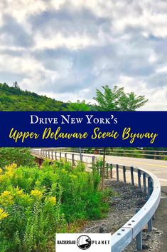 Drive New York's Upper Delaware Scenic Byway to discover quaint river towns, visit rare architectural churches, investigate the haunted Burn Brae Mansion, and chase the unique bridges of Sullivan County. #travel #TBIN #ILoveNY #scenicbyways via @backroadplanet