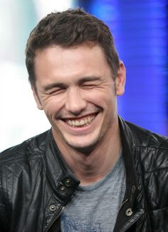 James Franco, your smile could kill me because it is too perfect!