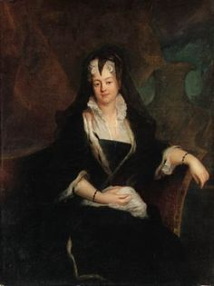 Johanna Prinzessin von Anhalt-Dessau  by Antoine Pesne, 1745 1682-1750
