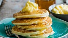 These delicious lemon ricotta pancakes are a fresh Italian spin on a classic. They are so soft and fluffy, a perfect indulgent treat for the whole family.