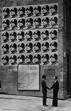 Nachum Tim Gidal - Friends under Mussolini Posters, Rome, 1930s