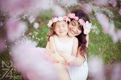 sesión de fotos en familia primavera en almendros en flor barcelona (21)