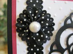 Stampin' Up!  Scalloped Ribbon Flower Tutorial by Linda Gutierrez, Stamping Year-Round