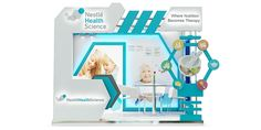 nestle health science for Brand Dialogue 'Marketing Solutions Exhibition Stall, Exhibition Booth Design, Exhibition Ideas, Exhibit Design, Pos Design, Stage Design, Branding Design, Salas Lounge, Pop Display