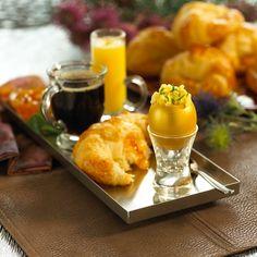 Continental Breakfast individually served vs. buffet.  Presentation is key & www.entertainingcompany.com does it best.  LOVE THEM!