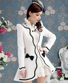 Vintage Dress Coat  #dressmaking