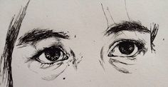 #sad #art #pain #eyes
