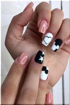 Nail Art Designs Images, Simple Nail Art Designs, Acrylic Nail Designs, Acrylic Nails, Coffin Nails, Easy Designs, Toe Designs, Nail Art Videos, Spring Nail Art