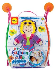 Your little girl will adore this Fashion in the Tub toy by Alex Toys. #Bellafind