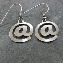 @ earrings - computer geek jewelry