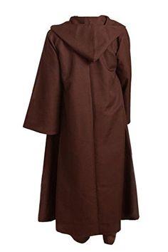 allten mens star wars obiwan kenobi jedi brown cloak l read more at the image link