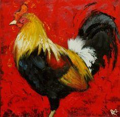Roosters - gotta love 'em! (I do)