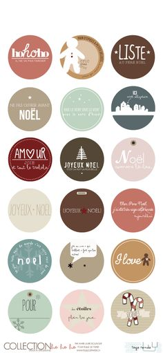 50 Unexpected Wreaths You Can Make Out Of Anything Noel Christmas, Christmas Gift Tags, Christmas Wrapping, Xmas, French Christmas, Printable Labels, Printable Stickers, Printable Paper, Free Printables