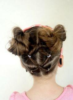 peinado muy mono