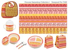 Princess Darjeeling Collection - Designed for Oré Originals | Heather Dutton