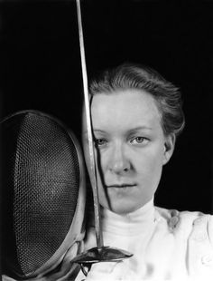 Helena Mayer, Fencer, 1935 - by Imogen Cunningham the photo by Andreas Feininger reminded me that one. Martha Graham, Vivian Maier, Messina, Portland, Oregon, Imogen Cunningham, Simple Subject, New York Soho, Greatest Mysteries