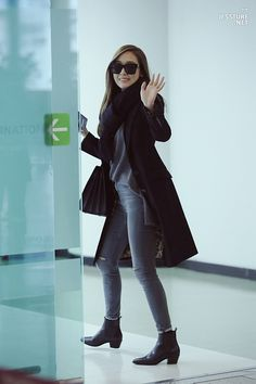 Jessica Jung Airport Fashion 141223 2014                                                                                                                                                                                 More