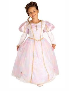 Kids Rainbow Princess Costume