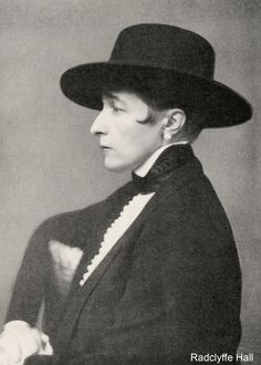 Radclyffe Hall (born Marguerite Radclyffe-Hall on 12 August 1880 – 7 October was an English poet and author, best known for the lesbian classic The Well of Loneliness, which on its publication in 1928 became the centre of a trial for obscenity, and w Vintage Lesbian, Lesbian Love, Vintage Couples, Vintage Girls, My English Teacher, English Dress, Night Aesthetic, Free Mind, Book Writer