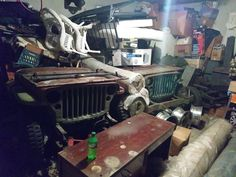 Hidden treasure 3 WWII jeeps 2 fords 1 willys