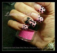 Pink polka-dot