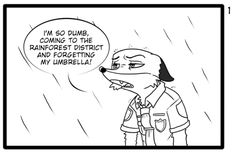 Zootopia News Network: Comic: Smart Judy (Original by 米克斯犬) (Translated b...