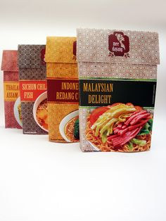 Mee Dayang - instant noodle packaging design on Behance