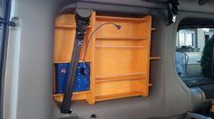 DIY Window Shelves for Renault Trafic