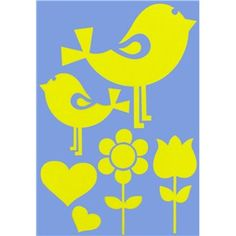 Bird Decorative Stencil | Shop Hobby Lobby  $2.99
