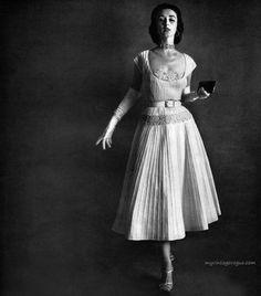 Dorian Leigh, vintage models, 1950s
