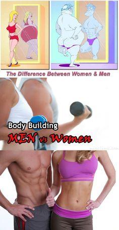 Muscle Building Men vs Women  Free Pinterest E-Book Be a Master Pinner  http://pinterestperfection.gr8.com/