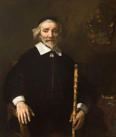 Rembrandt, Portrait of Dirck van Os, 1658, Joslyn Art Museum, Omaha, Nebraska.  This painting is officially attributed to Rembrandt again.  5/7/14