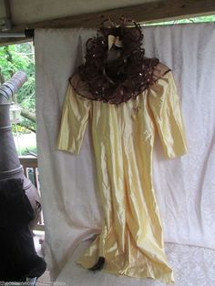 Wolff Fording Company Wizard Of Oz Lion Dance Costume Small Child Theatrical #WolffFordingandCo
