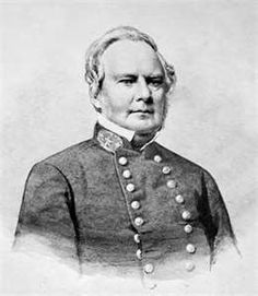 Confederate General Sterling Price, who commanded troops in many Arkansas Civil War engagements, including the 1862 Battle of Pea Ridge.