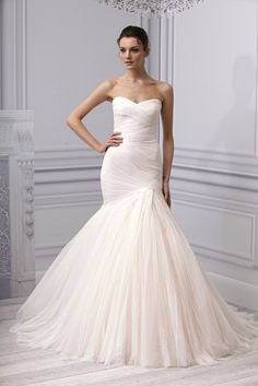 think this is one of my favorites!  Monique Lhuillier, Spring 2013