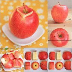 Learn How To Cut Different Fruits. ☺️