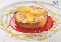 Tortino di riso in crema di limone Camembert Cheese, Dairy, Dessert, Food, Deserts, Essen, Postres, Meals, Yemek