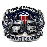 Vintage Western Eagle Truck Driver Belt Buckle Western Belt Buckles,  Western Belts, Tool Belt 135ae07d046
