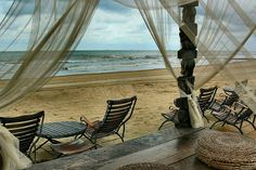 gorgeous beach setting