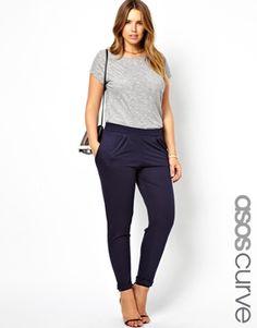 ASOS CURVE Exclusive Peg Trouser $30.55