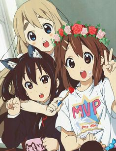 K-ON! Anime K, Anime Love, Anime Girls, Me Me Me Anime, Kawaii Anime, Friend Anime, Azusa Yui, K On Mugi, Manga Art